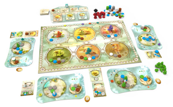Dreamscape - Core Box Components - English version