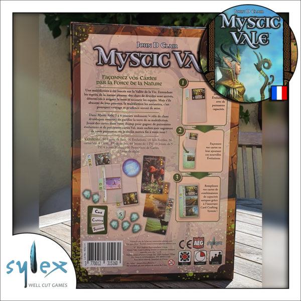 Mystic Vale VF - Dos de la boite